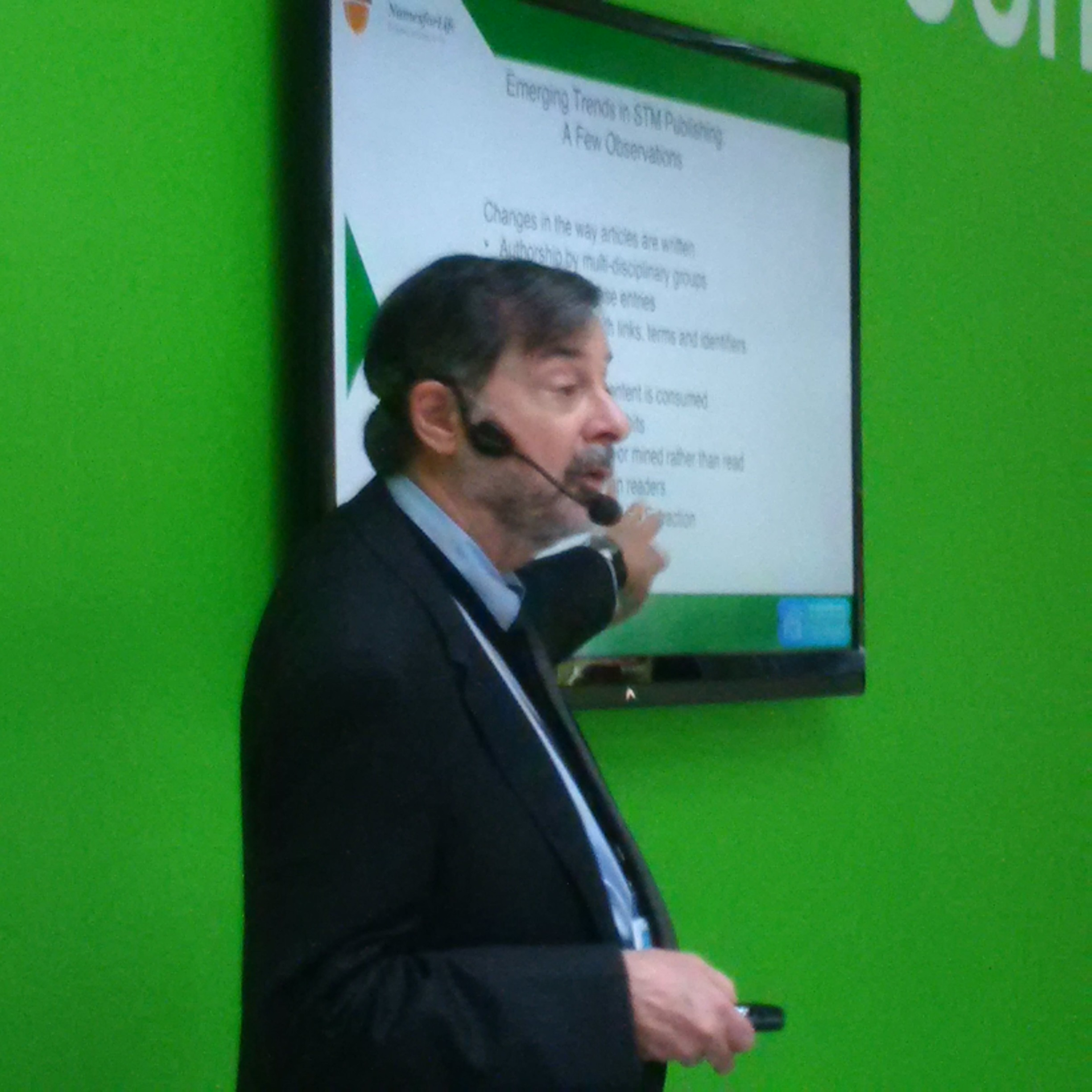 "George Garrity presents ""Unlocking content value and reducing production costs with Hidden Metrix™""."
